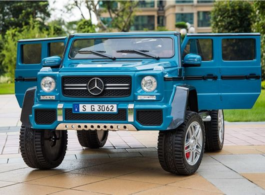 Двухместный Mercedes-Benz Maybach G650 AMG (4WD, MP4 видео-планшет) blue