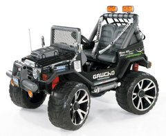 PEG-PEREGO Gaucho Superpower 24V, Черный